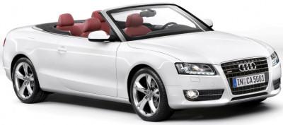 L'Audi A5 est également disponible en version cabriolet: l'Audi A5 Convertible.