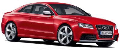 Présentation de la plus sportive des Audi A5: l'<b>Audi RS5</b> de 2010..