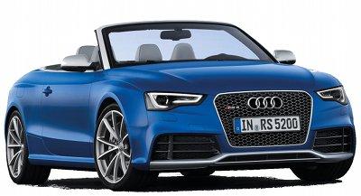 Présentation de l'Audi RS5 Cabriolet..