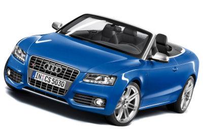 L'Audi S5 Convertible reçoit un moteur V6 Turbo 3.0L TSFI de 333ch..